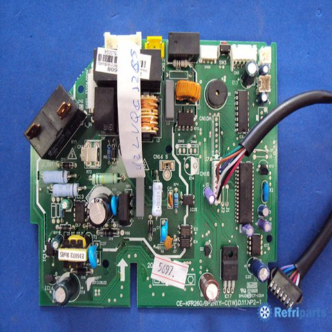 Placa Eletronica Evaporadora Carrier Modelo 42LVQC12C5 - Inverter X-Power