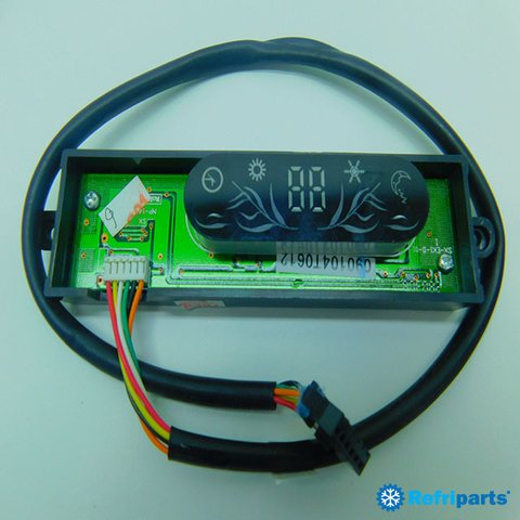 Placa Display York Modelos YPEA12MQ-ADA, YPEA12MM-ADA, YPEA12MR-ADA, YPKA12MQ-ADA, YPKA12MM-ADA - comprar online