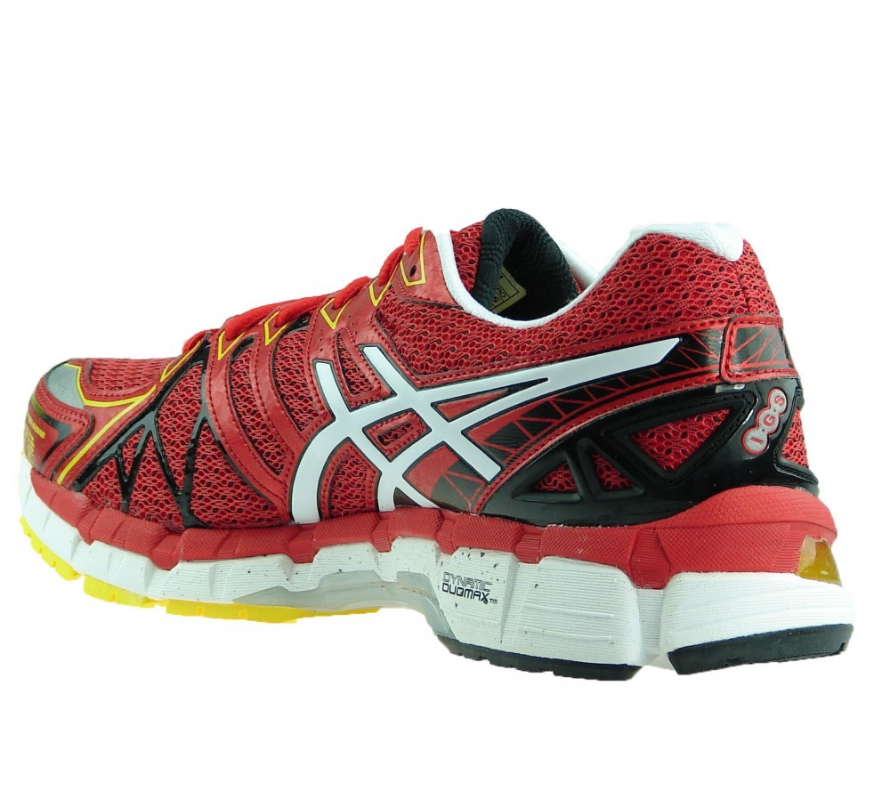 asics gel kayano 20 hombre - red