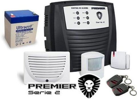 Kit Alarma Inalambrica Premier - Security Factory - Rosario