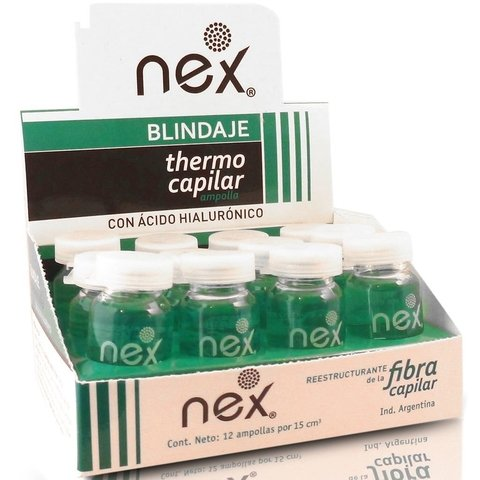 Ampollas Blindaje Thermo Capilar Nex - Acido Hialuronico