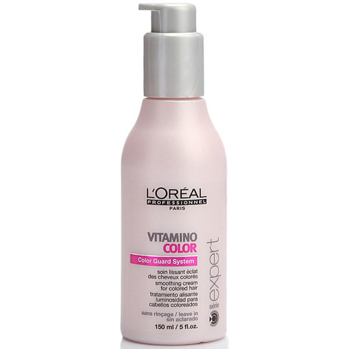 Crema Peinado Sin Enjuague Vitamino Color x 150 Ml - Loreal Professionnel