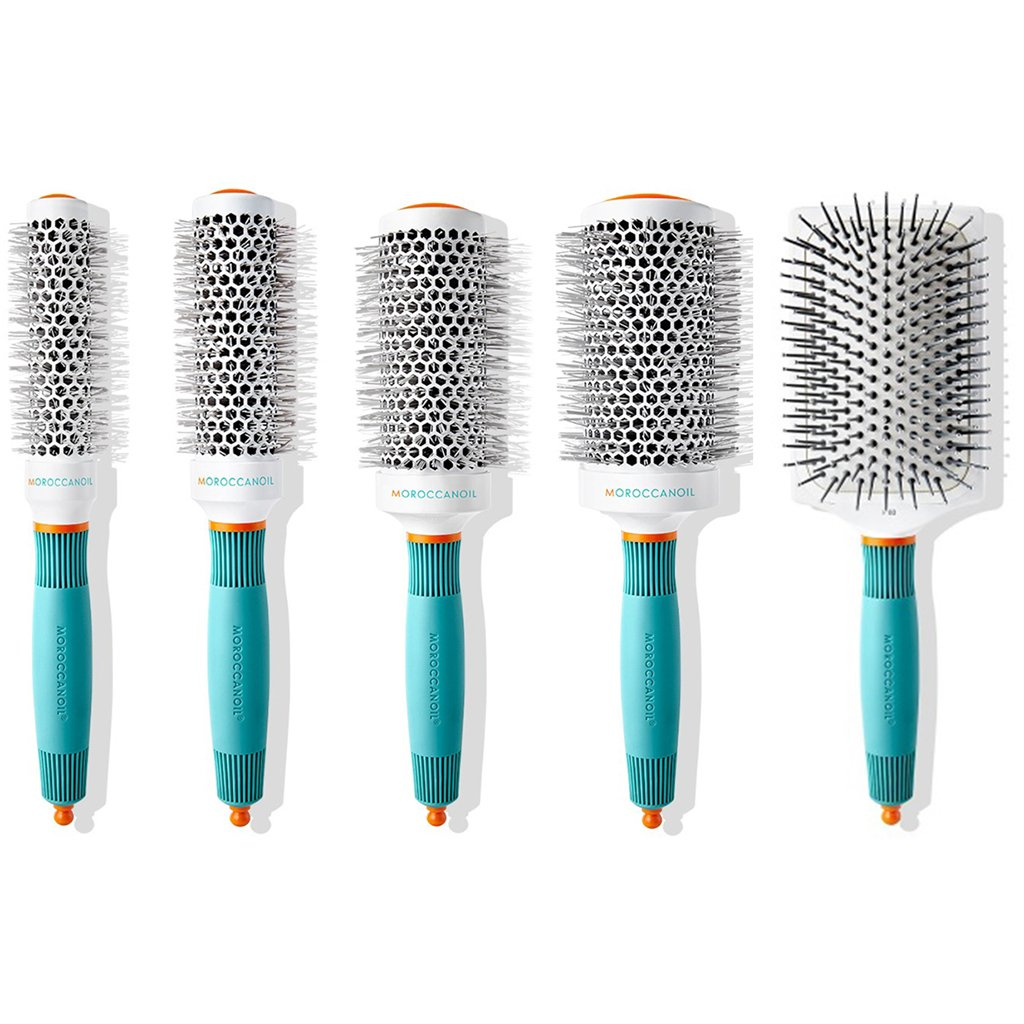Set 5 Cepillos Ion Ceramic Thermal 25/35/45/55/Paddle - Moroccanoil