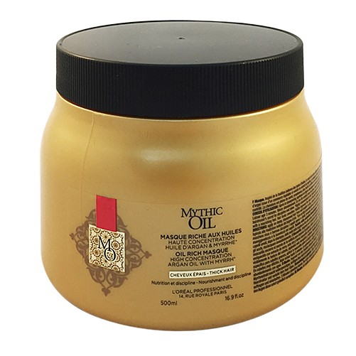 Máscara Cabellos Gruesos Mythic Oil X 500 Ml - Loreal Professionnel