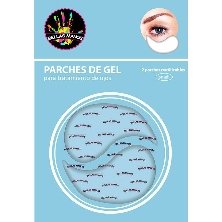 2 Parches De Gel Para Ojos Descongestivos Refrescantes - Bellas Manos - comprar online