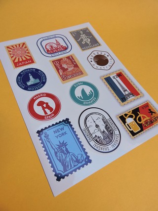 Stamp Coquet