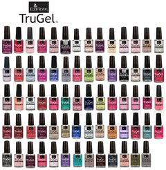 Imagen de Carta de colores Trugel Ezflow esmaltes semipermanentes en gel x 14.7 ml - LED / UV