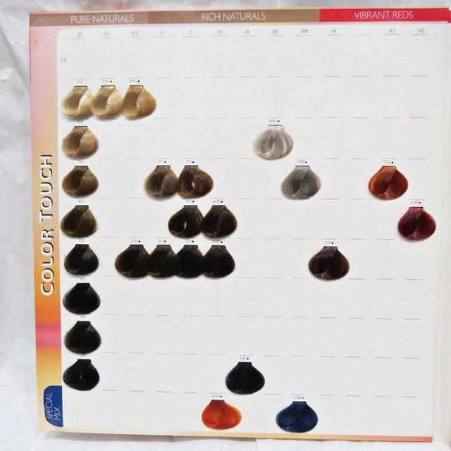 Carta de colores COLOR TOUCH - WELLA