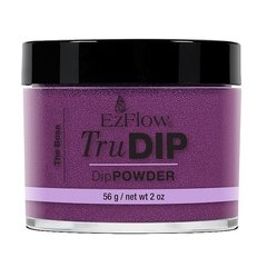 Polvo Trudip The Boss x 56 gr - Color vino / violeta muy oscuro - Sistema Dipping - Ezflow - Origen USA - Art. 67339