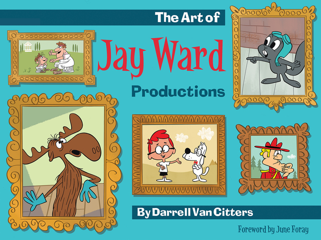 Libro: The Art of Jay Ward Productions