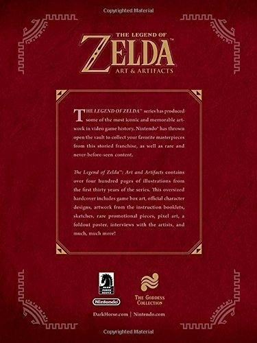 Libro: The Legend of Zelda: Art & Artifacts - tienda online