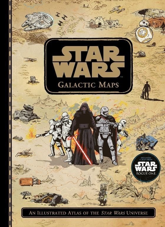 Libro: Star Wars Galactic Maps: An Illustrated Atlas of the Star Wars Universe