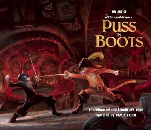 Libro: The Art of DreamWorks Puss in Boots