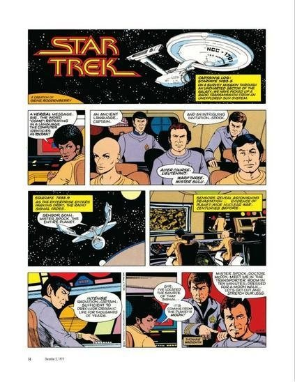 Imagen de Libro: Star Trek: The Newspaper Strip The Complete Comics 1979 -1981