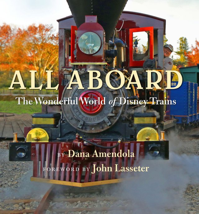 Libro: All Aboard - The Wonderful World of Disney Trains (Disney Editions Deluxe)