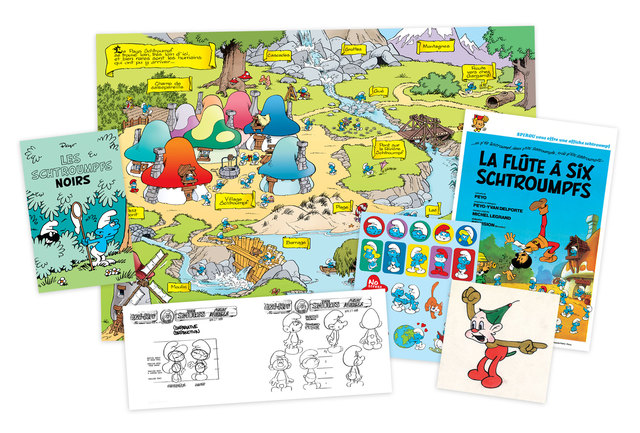 Libro: The World of Smurfs: A Celebration of Tiny Blue Proportions - Vanguardia Libros