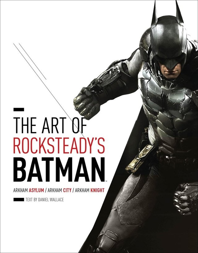 Libro de saldo: The Art of Rocksteady's Batman: Arkham Asylum, Arkham City & Arkham Knight