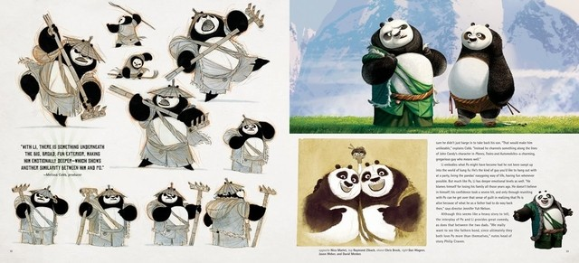 Libro: The Art of Kung Fu Panda 3 - Vanguardia Libros