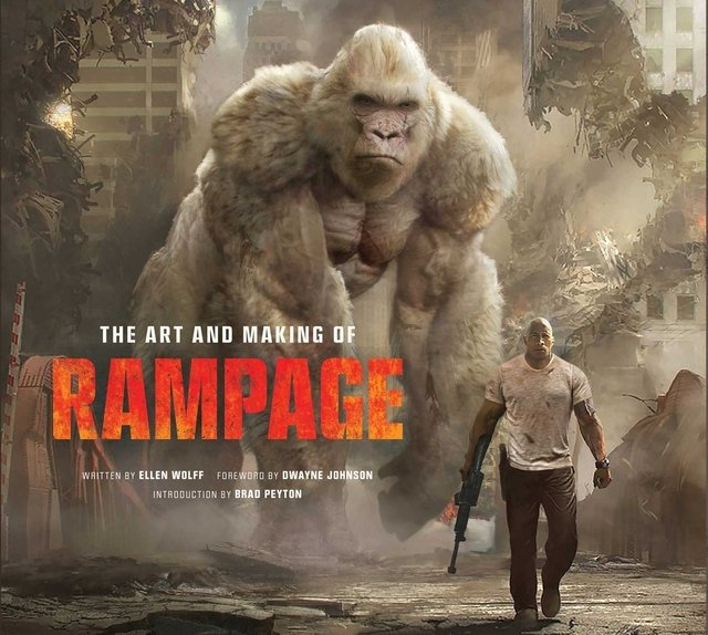 Libro: The Art and Making of Rampage