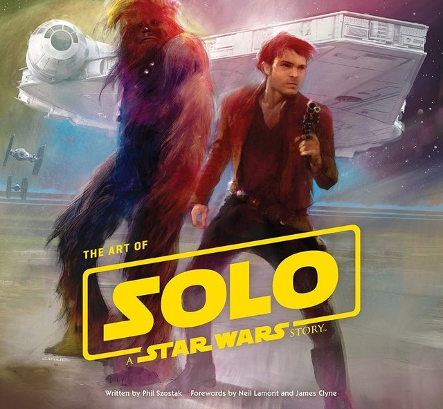 Libro: Art of Solo - A Star Wars Story