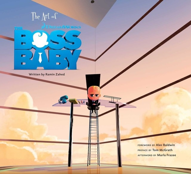 Libro: The Art of The Boss Baby