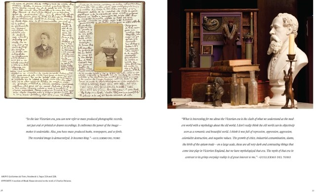 Imagen de Libro: Guillermo del Toro: At Home with Monsters: Inside His Films, Notebooks, and Collections