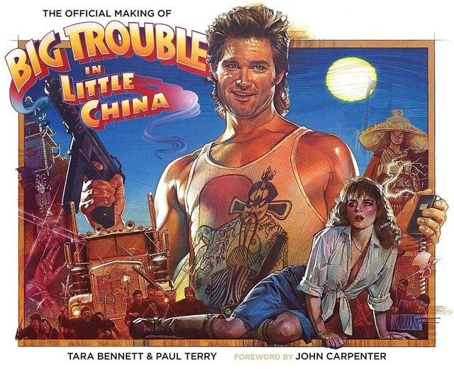 Libro: The Official Making Of Big Trouble In Little China