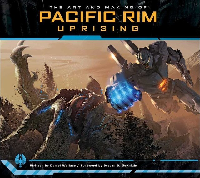 Libro: The Art and Making of Pacific Rim Uprising