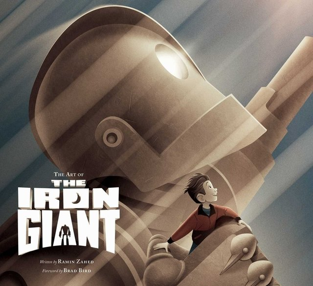 Libro: The Art of the Iron Giant