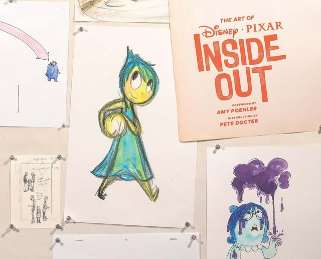 Libro: The Art of Inside Out