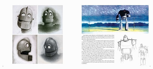 Libro: The Art of the Iron Giant en internet