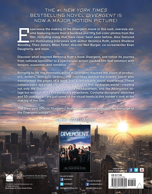 Libro: Divergent Official Illustrated Movie Companion (Divergent Series)