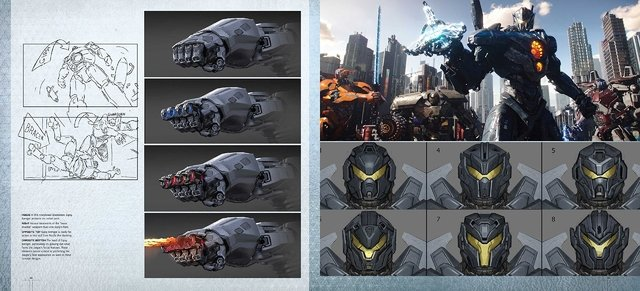 Libro: The Art and Making of Pacific Rim Uprising - Vanguardia Libros