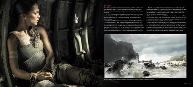 Libro: Tomb Raider: The Art and Making of the Film en internet
