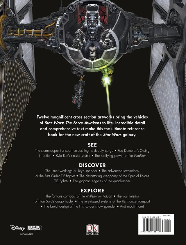 Libro: Star Wars: The Force Awakens Incredible Cross-Sections - comprar online