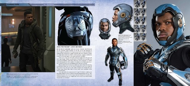 Libro: The Art and Making of Pacific Rim Uprising en internet