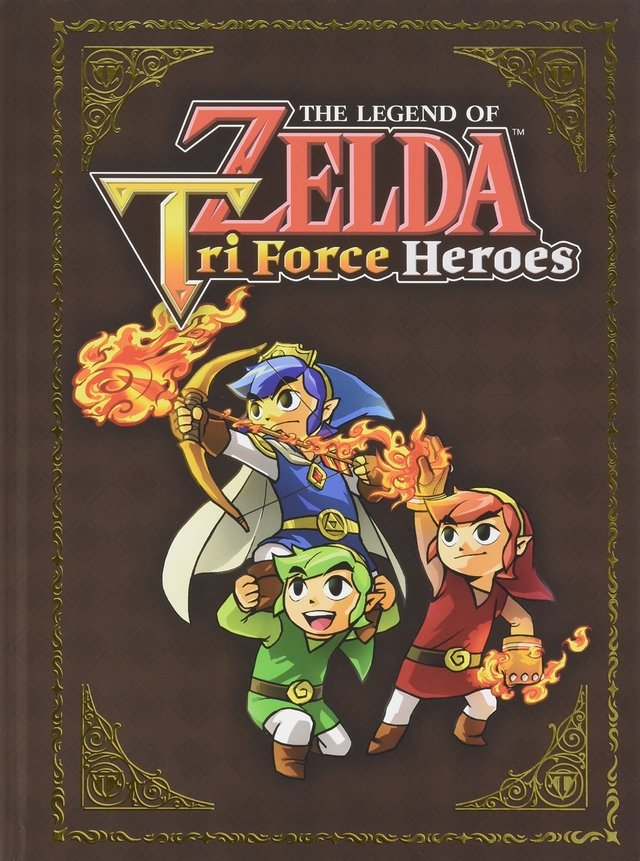 Libro:The Legend of Zelda: Tri Force Heroes Collector's Edition Guide