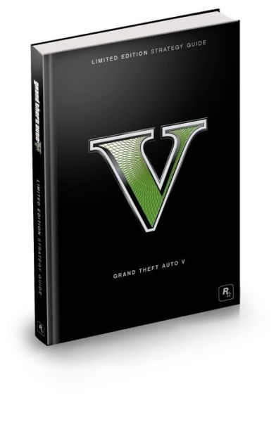 Libro: Grand Theft Auto V Limited Edition Strategy Guide