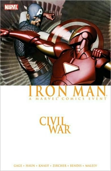 Comic : Iron Man - Civil War