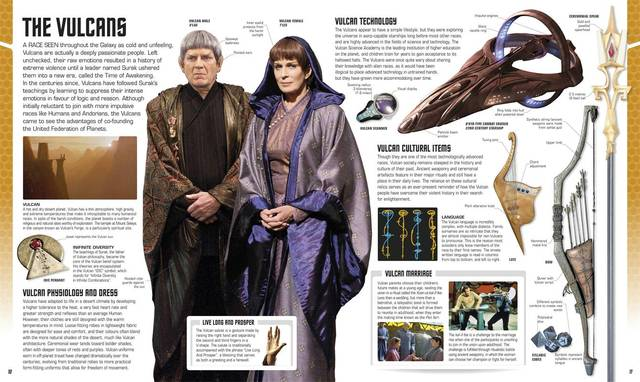 Libro: Star Trek: The Visual Dictionary en internet