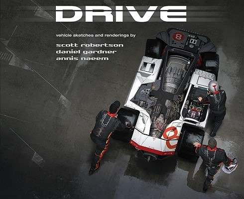 Libro: DRIVE: vehicle sketches and renderings by Scott Robertson