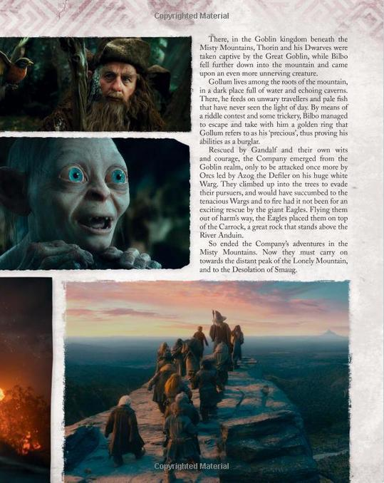 Libro: The Hobbit: The Desolation of Smaug Visual Companion - Vanguardia Libros
