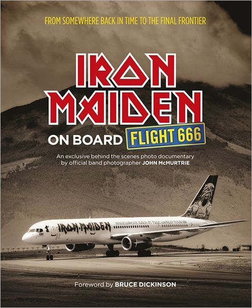 Libro: Iron Maiden: On Board Flight 666
