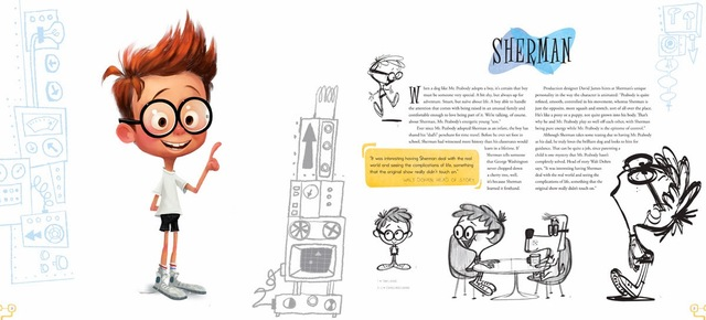 Libro: The Art of Mr. Peabody and Sherman en internet
