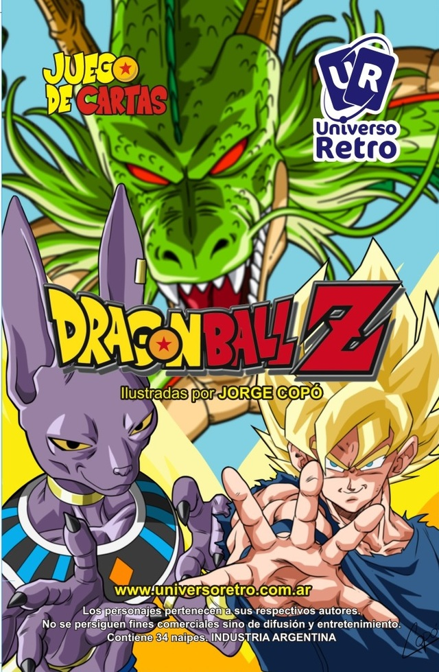 Juego de Cartas: Dragon Ball Z (Universo Retro)