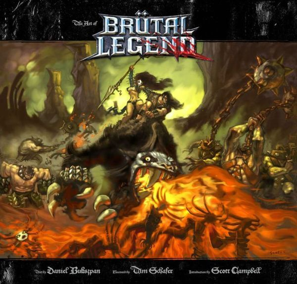 Libro: The Art of Brutal Legend