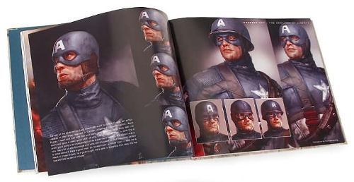 Libro: Captain America: The Art of Captain America - The First Avenger - Vanguardia Libros