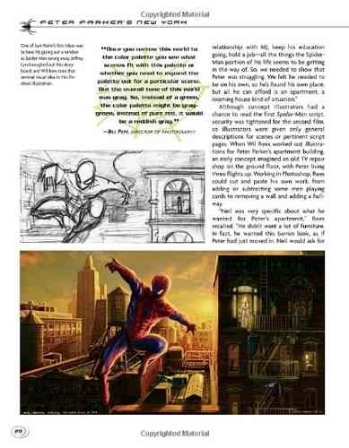 Libro: Caught in the Web: Dreaming Up the World of Spider-man 2 - Vanguardia Libros
