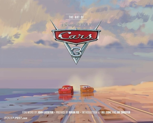 Libro: The Art of Cars 3