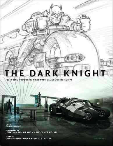 Libro: The Dark Knight Featuring Production Art and Full Shooting Script
